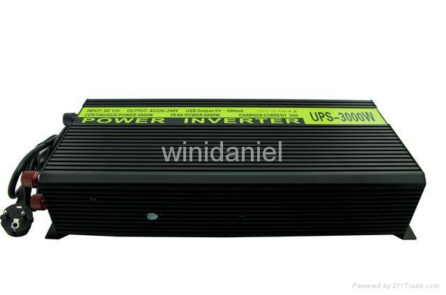 good heat dissipation UPS charger THCA 3000 dc 12v ac 220v 3000w 1