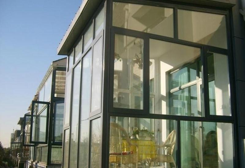 温州阳台窗断桥铝门窗 1