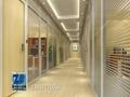 温州百叶隔墙办公室玻璃隔墙 2