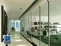 温州百叶隔墙办公室玻璃隔墙 4