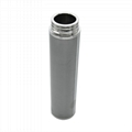 5 micron sintered metal filter with protect layer 4