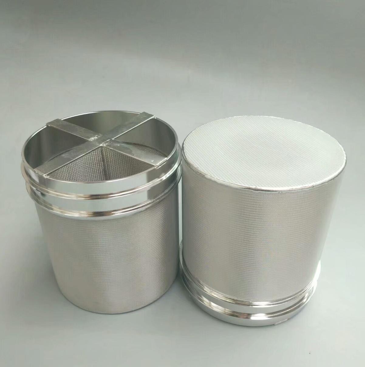 Sintered felt filter element 5