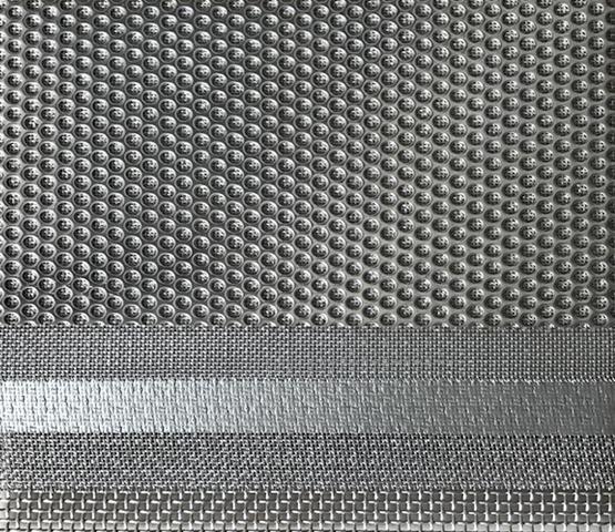 Multilayered sintered metal mesh 1