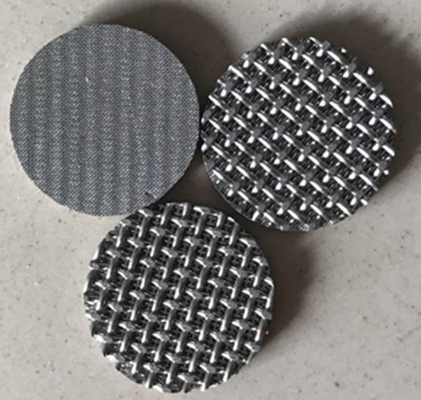 Multilayered sintered metal mesh 4