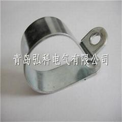 R型金属固定夹