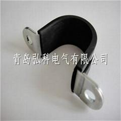 山东U型金属包塑固定夹