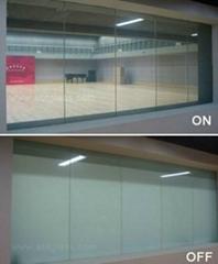 全息調光膜調光玻璃