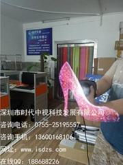 全息廣告機,全息3D投影,3D懸浮全息投影,全息小風扇