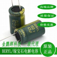 肇庆绿宝石高频低阻抗电解电容