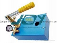 Stainless steel Hydraulic test pump