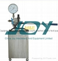 Stainless steel hydro test pump