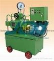 Automatic electric pressure test pump