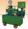 Automatic hydraulic pressure test pump