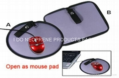 Fashion Laptop Accessorial Bag Mouse Pad