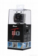 Full HD 1080P 12MP Action camera