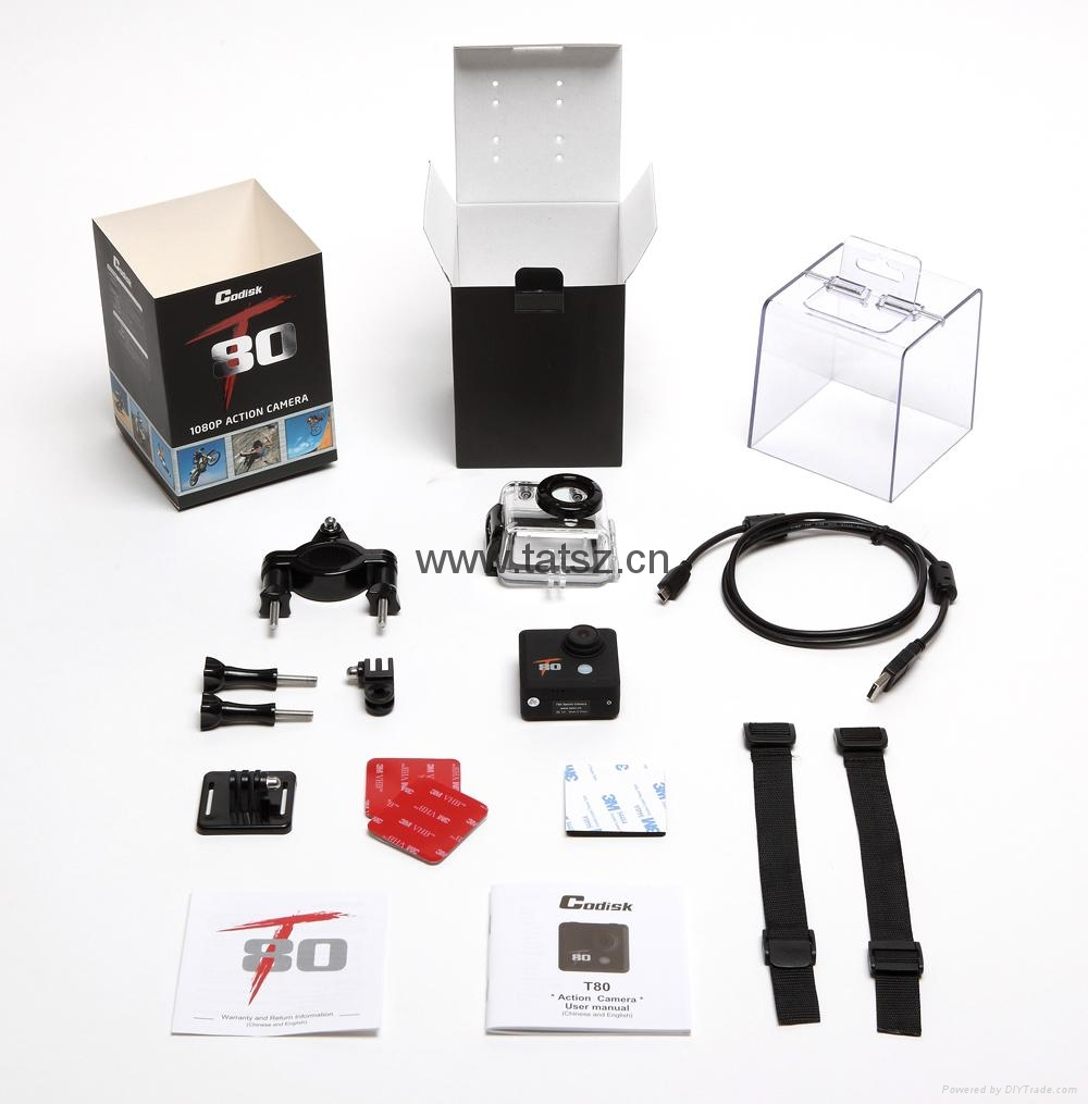 Full HD 1080P 12MP Action camera 2