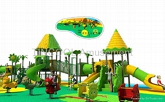 Amusement playground outdoor play center for children