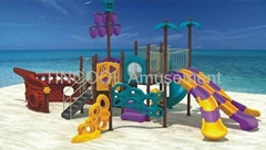 Outoor Playground Pivate Ship for children