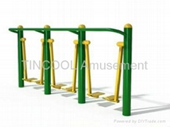Outdoor Fitness Single Air Walker Three Persion