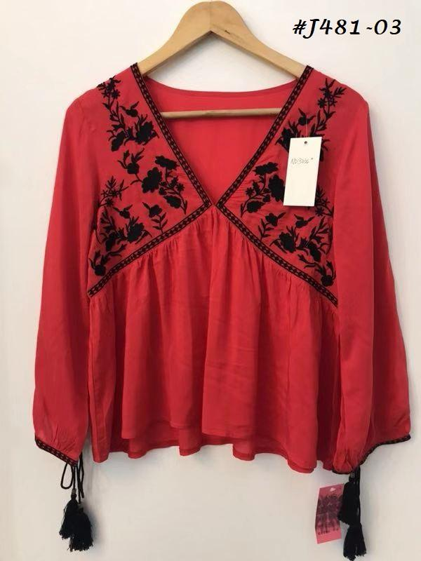 Embroidered Blouses  7