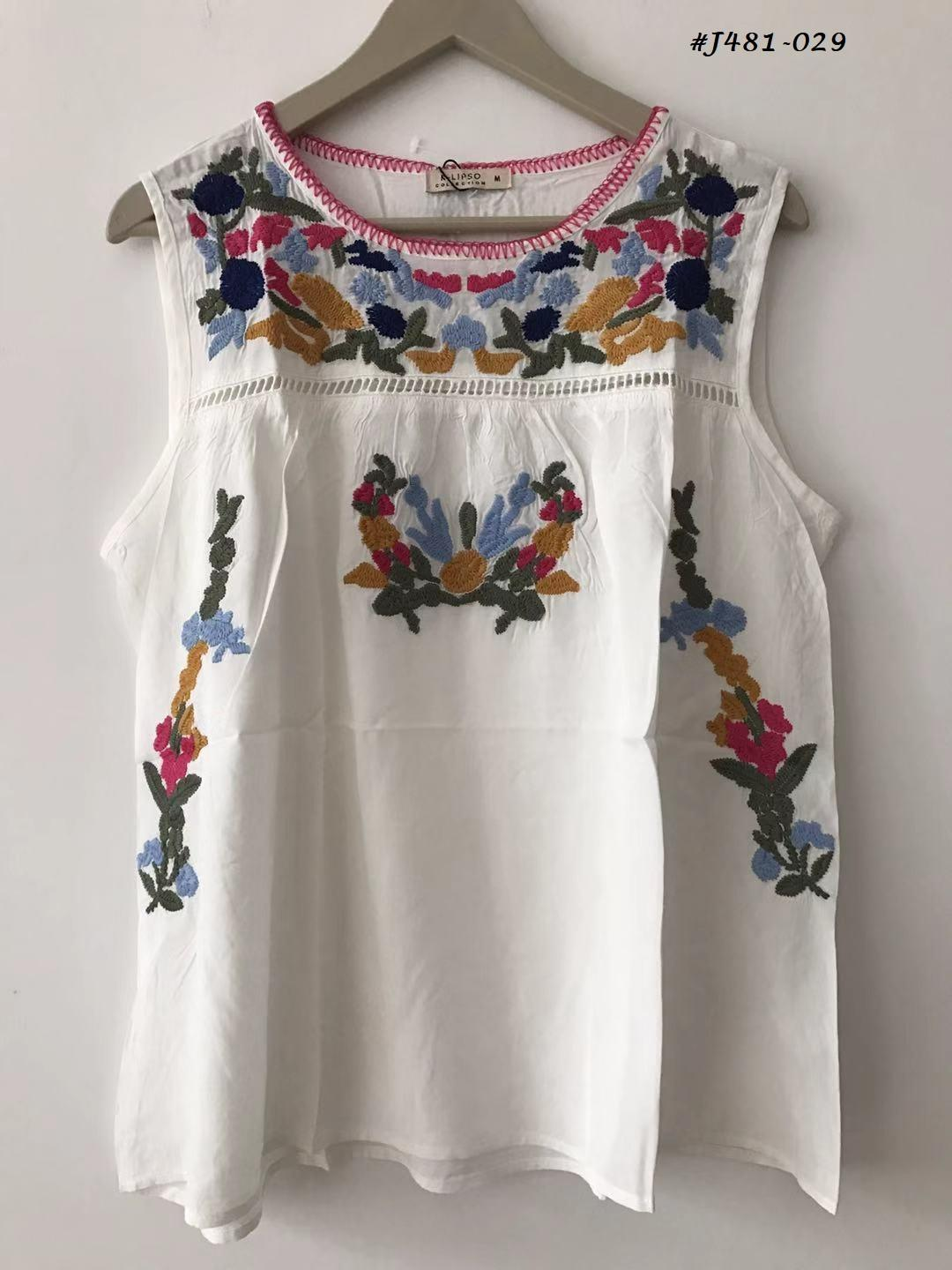 Embroidered Blouses  3