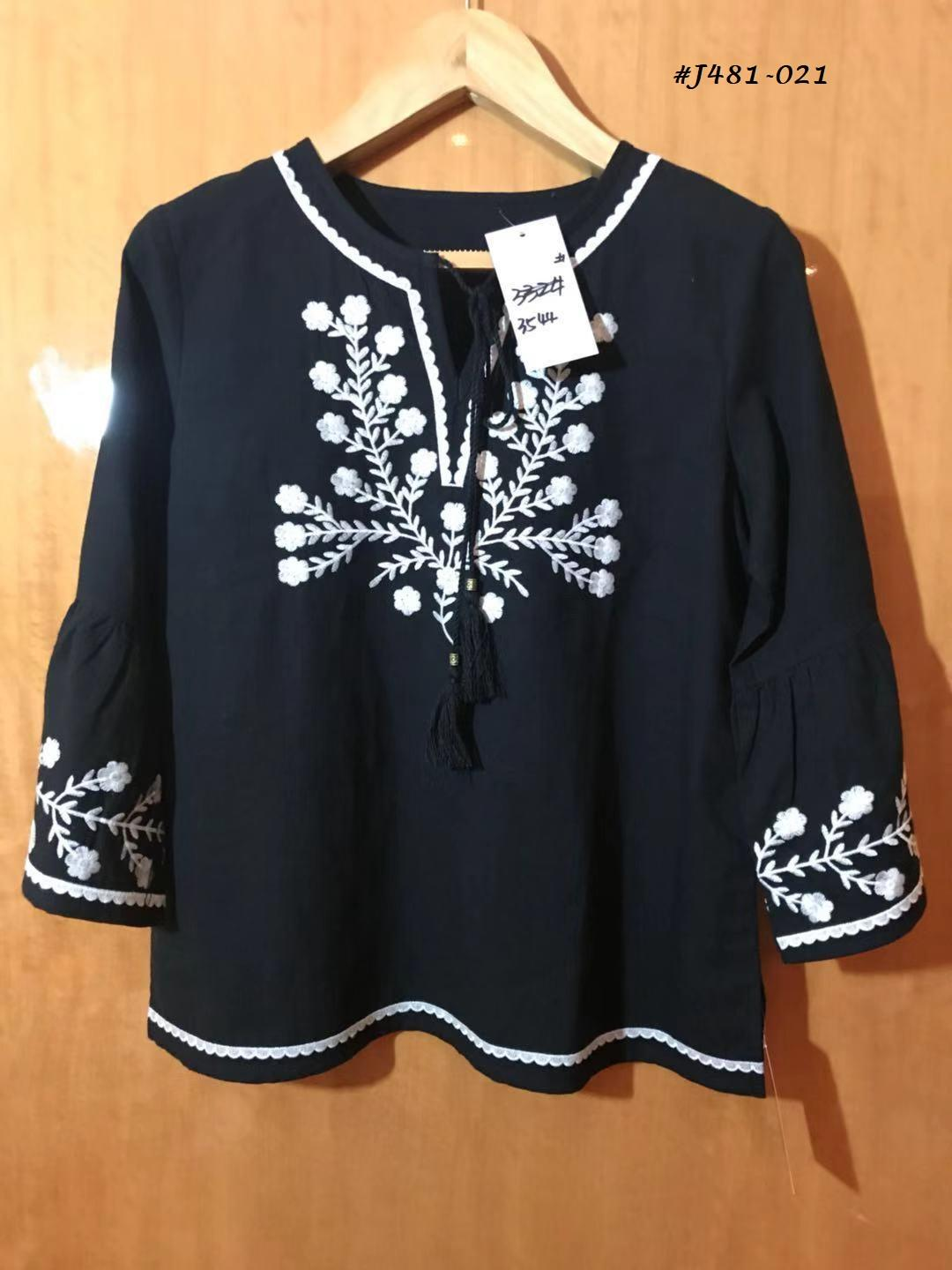 Embroidered Blouses  5