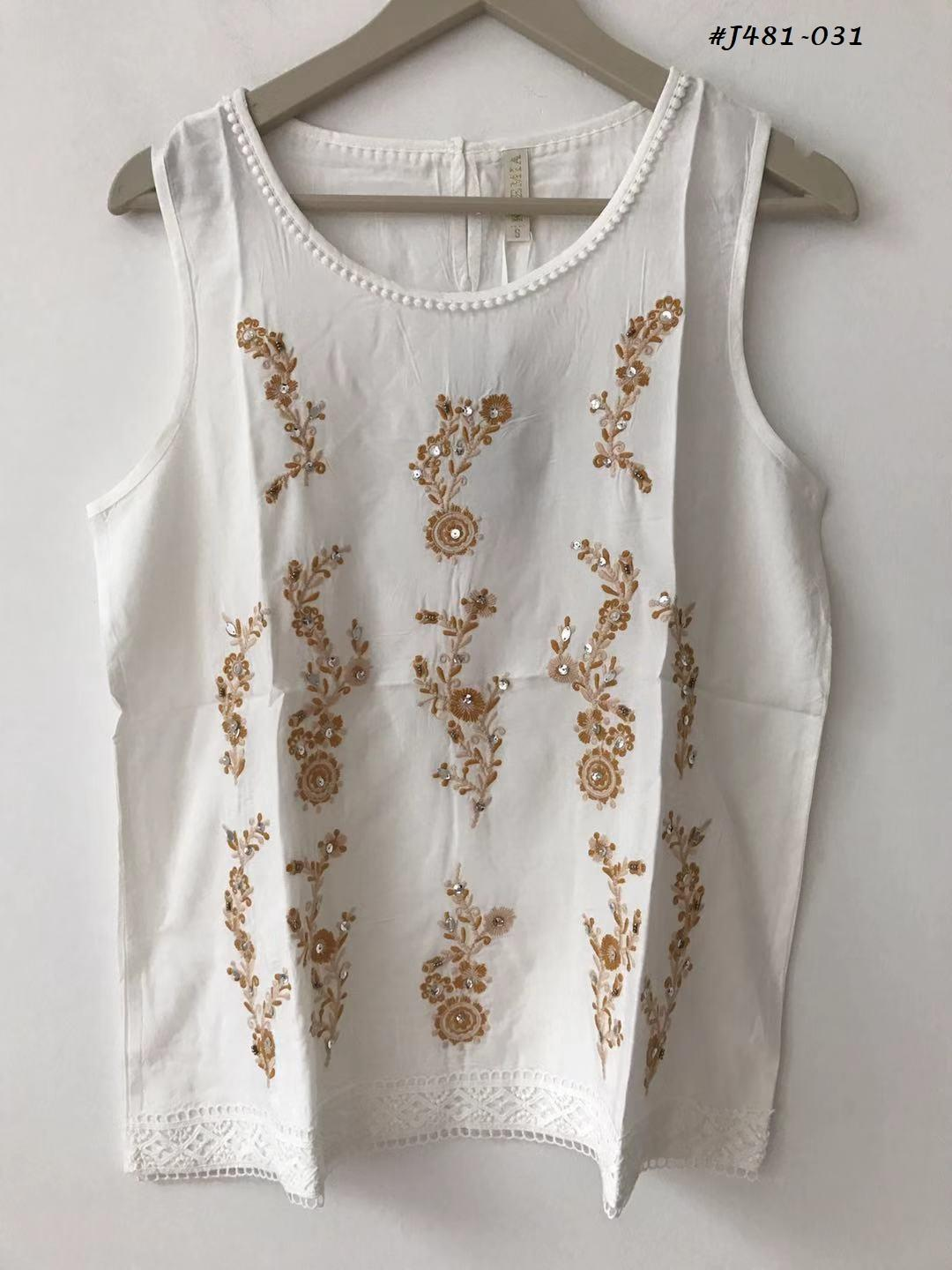 Embroidered Blouses  8