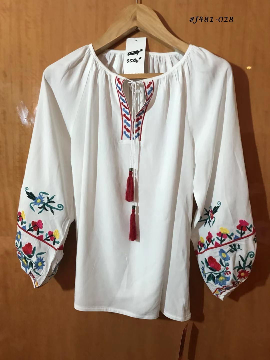 Embroidered Blouses  11
