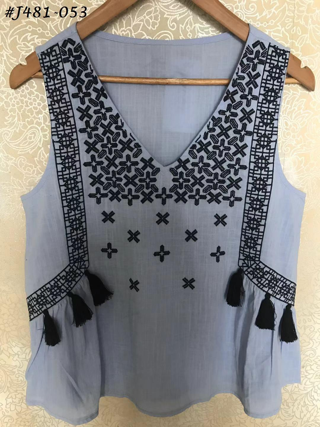 Embroidered Blouses  18