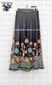 Mesh Emb Skirts  4