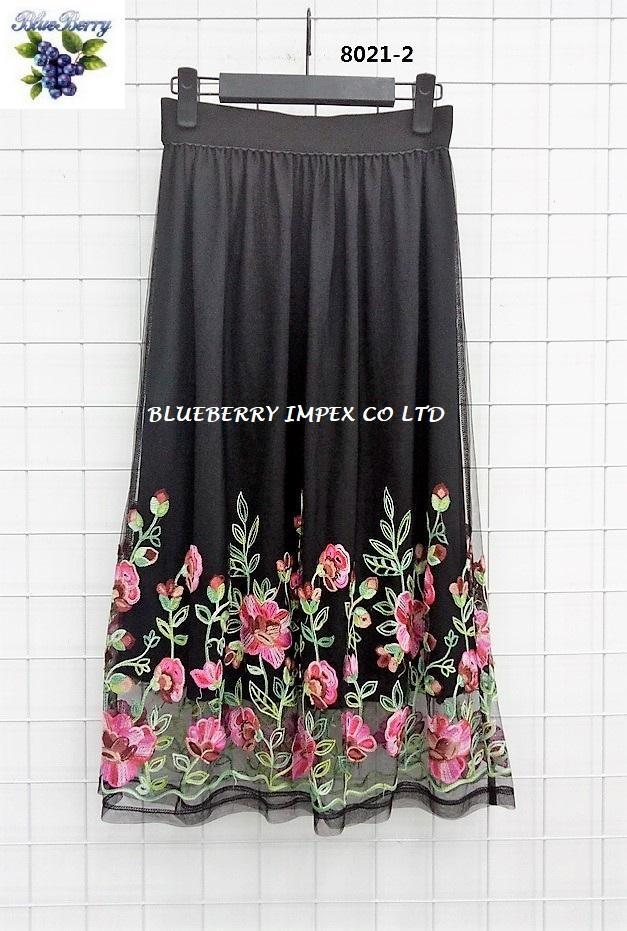 Mesh Emb Skirts  6