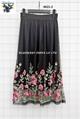 Mesh Emb Skirts