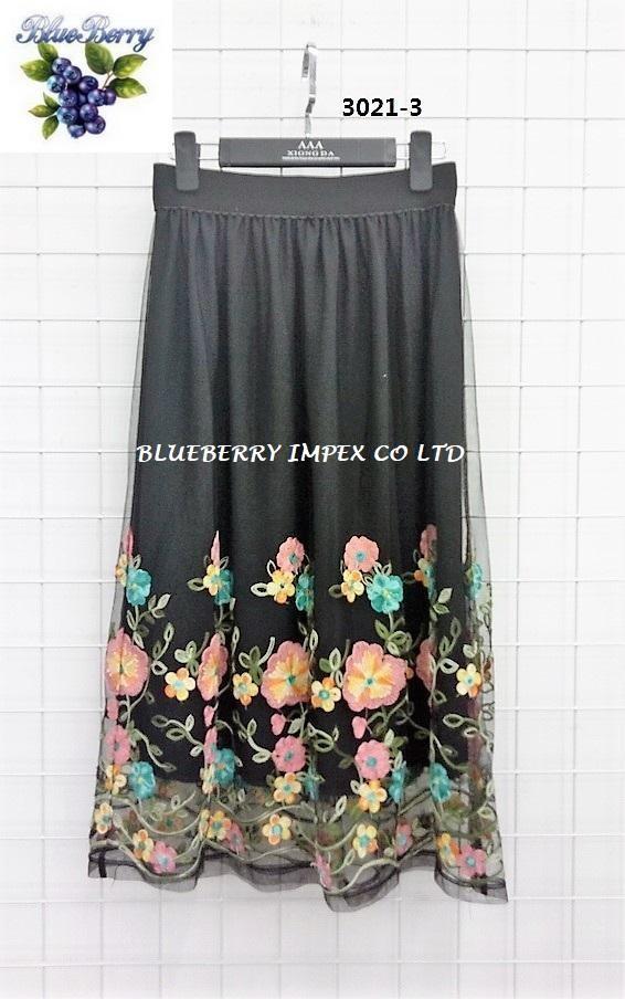 Mesh Emb Skirts  7