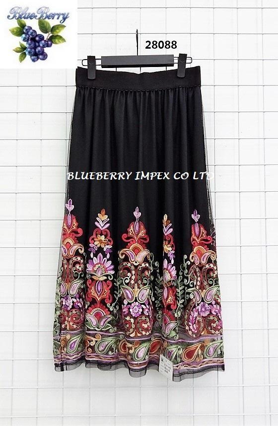 Mesh Emb Skirts  10