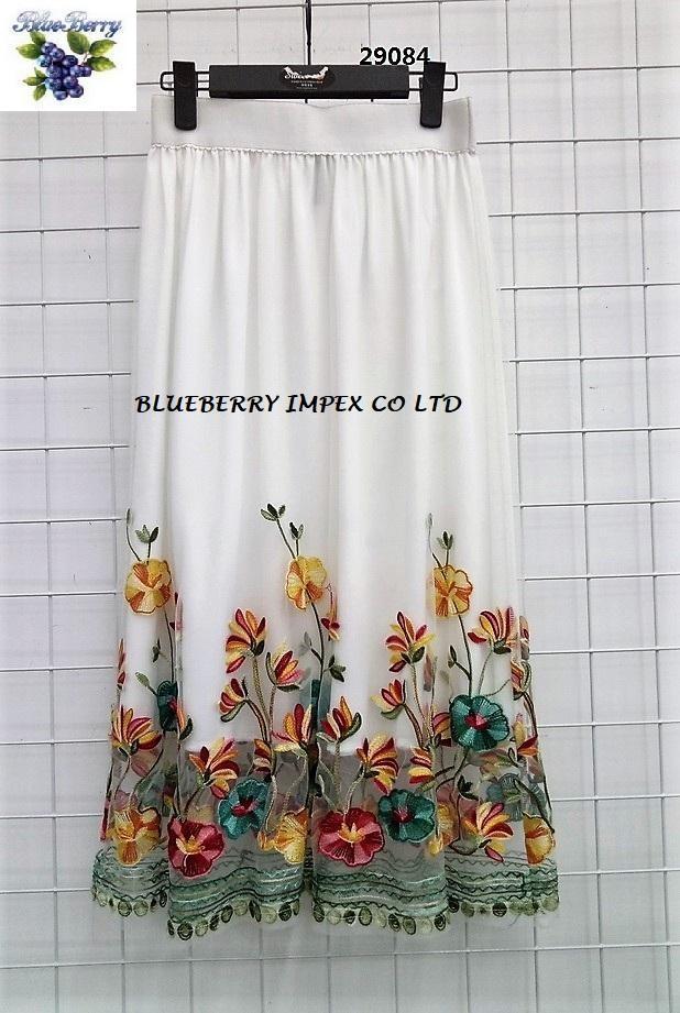 Mesh Emb Skirts  11