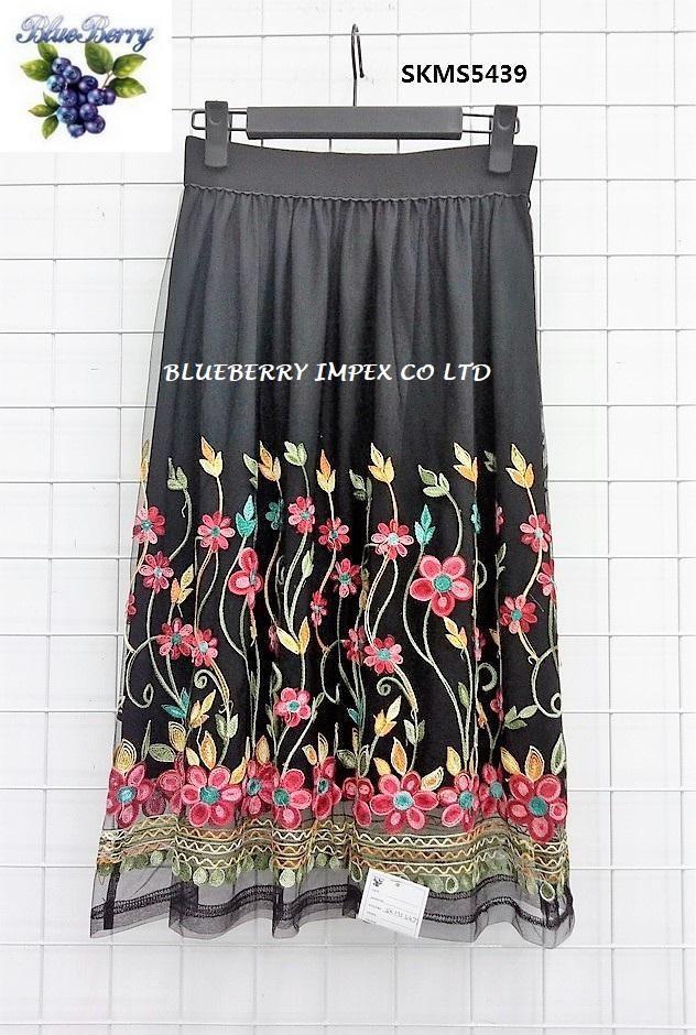 Mesh Emb Skirts  17