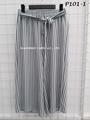 Bubble Knit Printed Pants