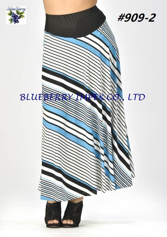 Knit Umbrella Skirt  1