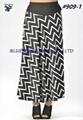 Knit Umbrella Skirt