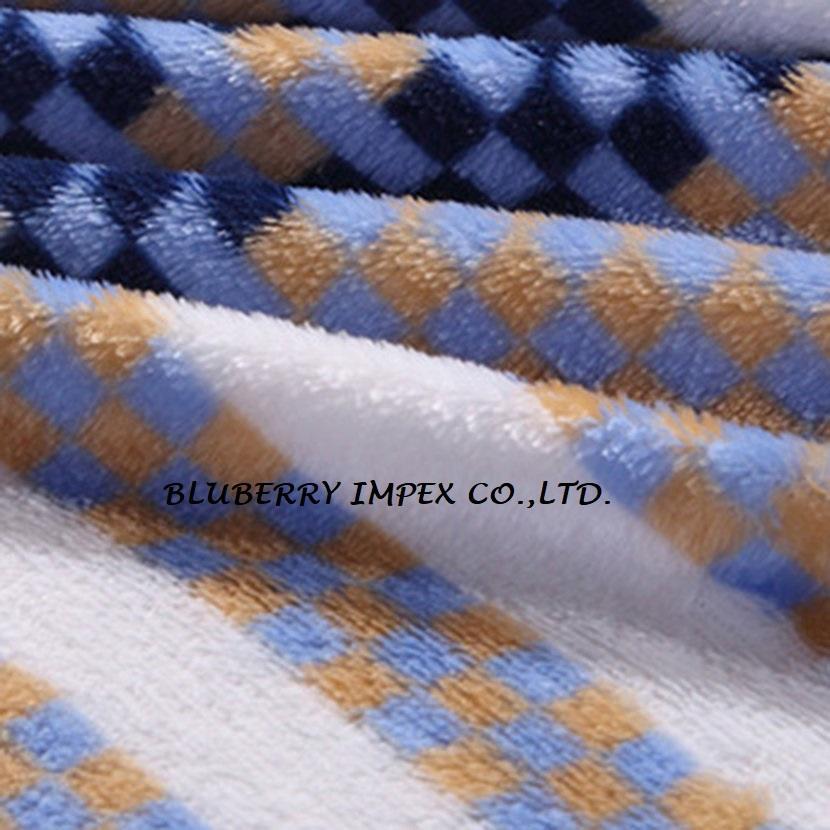 Coral fleece fabric 1