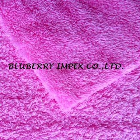 Coral fleece fabric 2