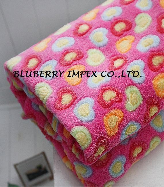 Coral fleece fabric 9