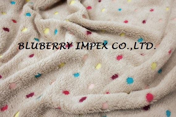 Coral fleece fabric 14