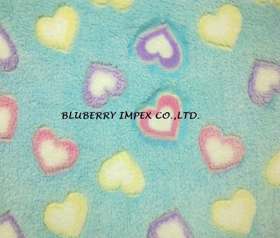 Coral fleece fabric 15