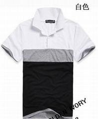 2014 latest men's slim fashion t-shirt,pure cotton t-shirt