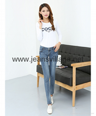 JV-X004 Comfortable jeans for gilrs
