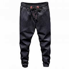 BL-1892 Men fashion denim jogger wholesale M-4XL