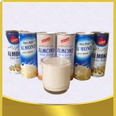 240ml canned almond juice drink healthy beverage