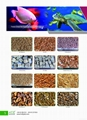 Ornamental fish food
