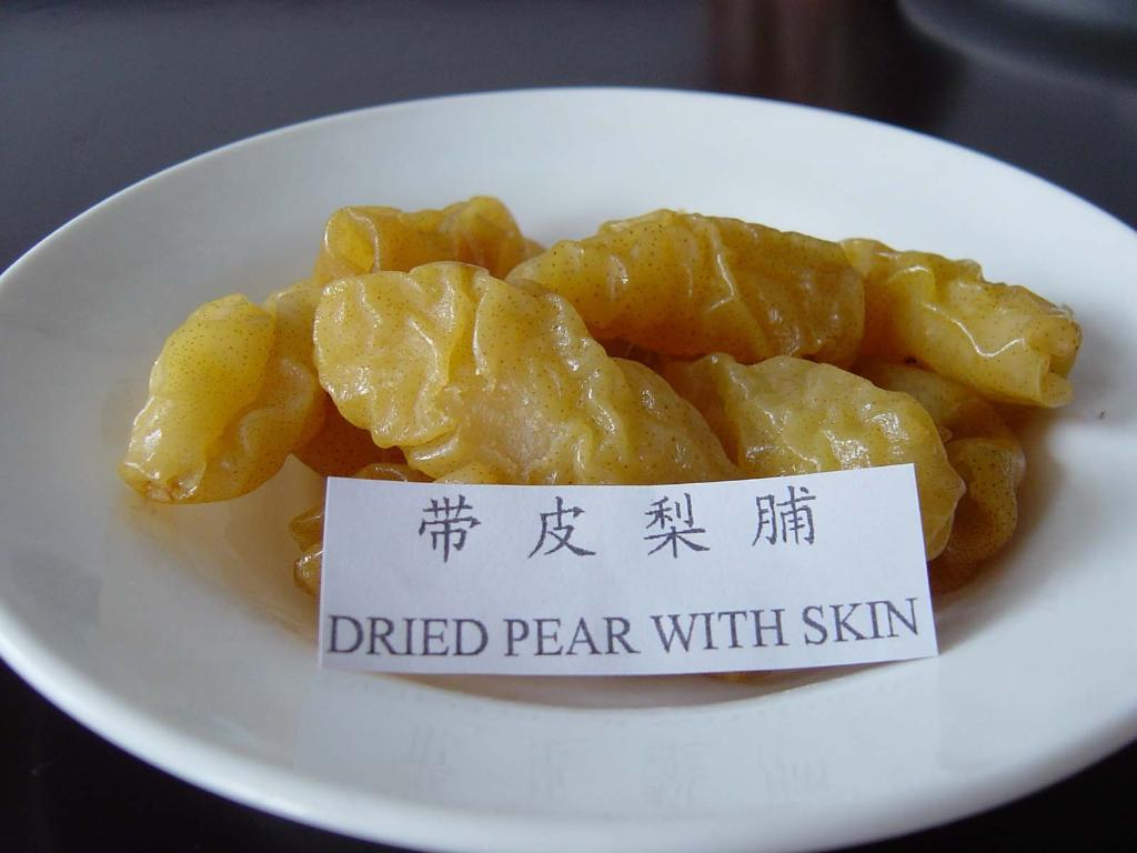 dried pear  1